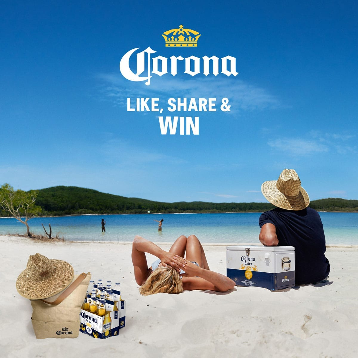 corona beer pictures on the beach
